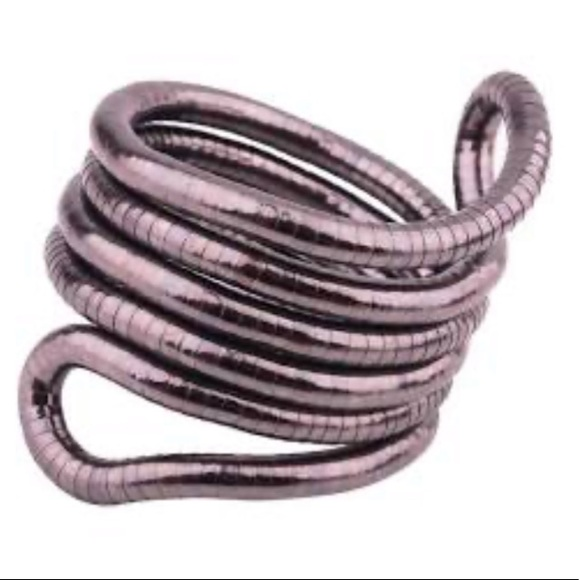 🆕 Boho Silver Bendable Bracelet Necklace